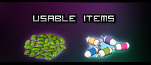 usable items